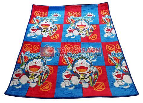Selimut Bulu Lembut Doraemon karpet lembut tokopas