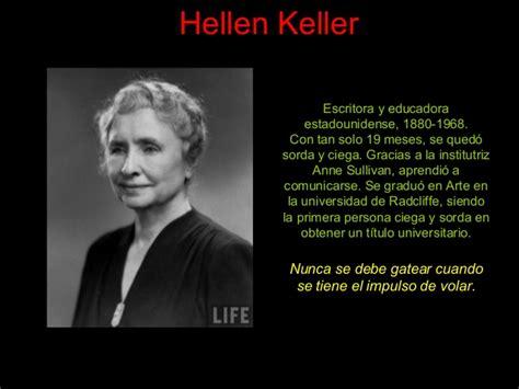 biografi de helen keller mujeresparala historia