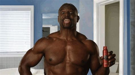 terry crews i miss you gif what s in side of old spice deodorant
