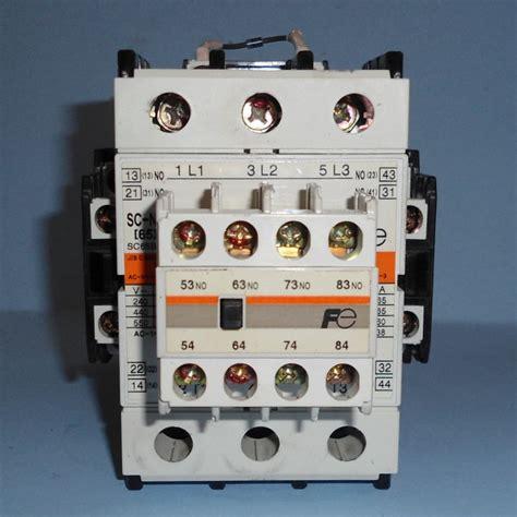 Kontaktor Sc N3 Fuji Electric fuji electric 24vdc coil 65a 100a contactor sc n3 g 65