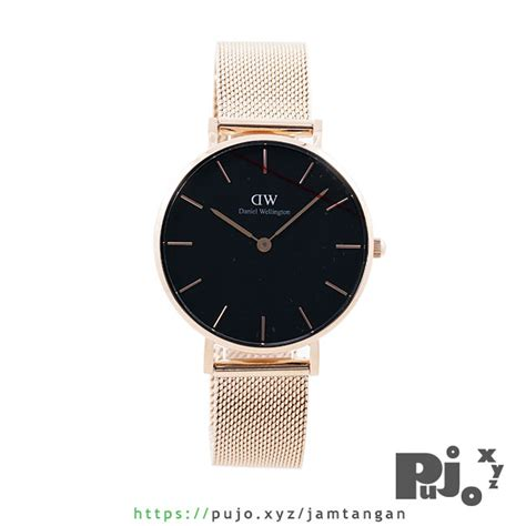 Jam Tangan Daniel Wellington Black jual daniel wellington classic black 32mm
