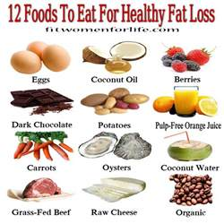 12 foods to eat for healthy fat loss