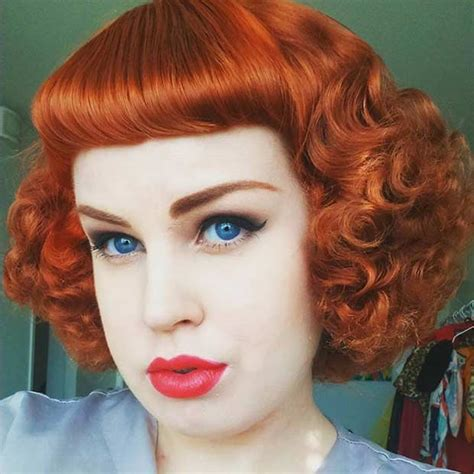 Pin Up Hairstyles With Bangs by 21 Pin Up Hairstyles That Are Right Now Stayglam