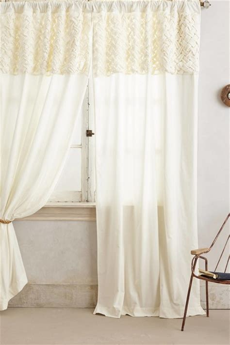 ivory velvet curtains braided velvet curtain ivory contemporary curtains