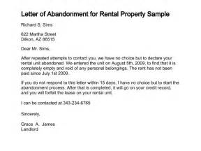 Certification Letter Of House Rental Sample Letter For Abandoned Propertyma Apps Directories