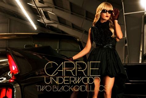 black cadillac country song carrie underwood s two black cadillacs getting tv mini
