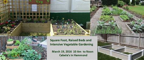 directions to cabela s in hammond indiana square foot raised beds and intensive vegetable gardening