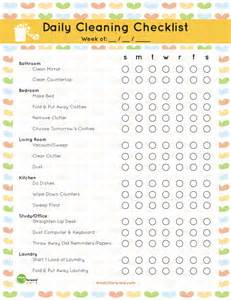 domestic cleaning schedule template the best free printable cleaning checklists titus