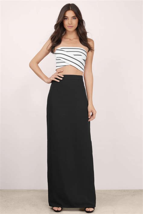 Maxi Black black maxi skirt high waisted www pixshark images