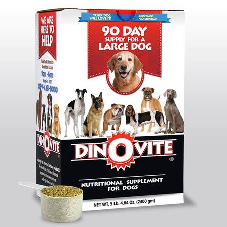 dinovite for dogs dinovite for large dogs
