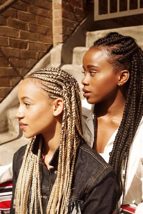 loc styles for big foreheads 25 best ideas about box plaits on pinterest black