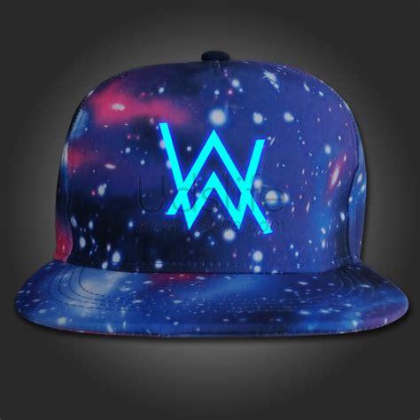 alan walker hat alan walker fade logo cap hat snapback adjustable galaxy