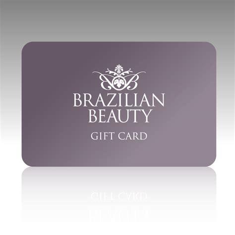 Make Up Gift Cards - gift card brazilian beauty