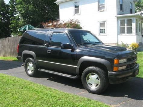 1996 2 Door Tahoe For Sale by Buy Used 1996 Chevrolet Tahoe Lt Sport Utility 2 Door 5 7l