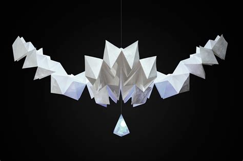 Interactive Origami - mixmotion presents kamiko an interactive kinetic