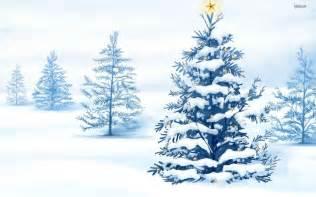 fondos de navidad con nieve para el escritorio gratis