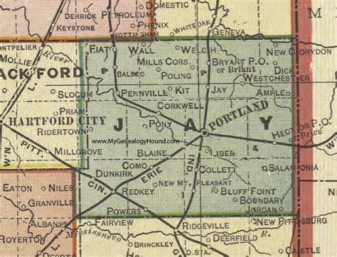 jay county indiana indiana jay county 171 every county