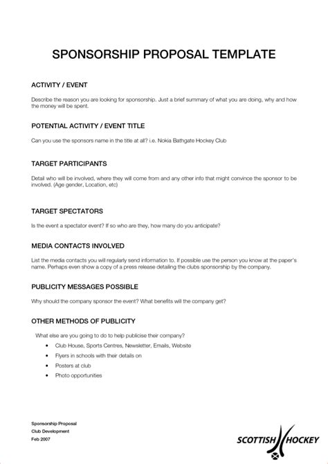 sponsorship resume template fishing sponsorship resume resume ideas