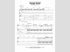 Buy 102 Chris Cornell Sheet music books and downloads Hunger Strike Tabs