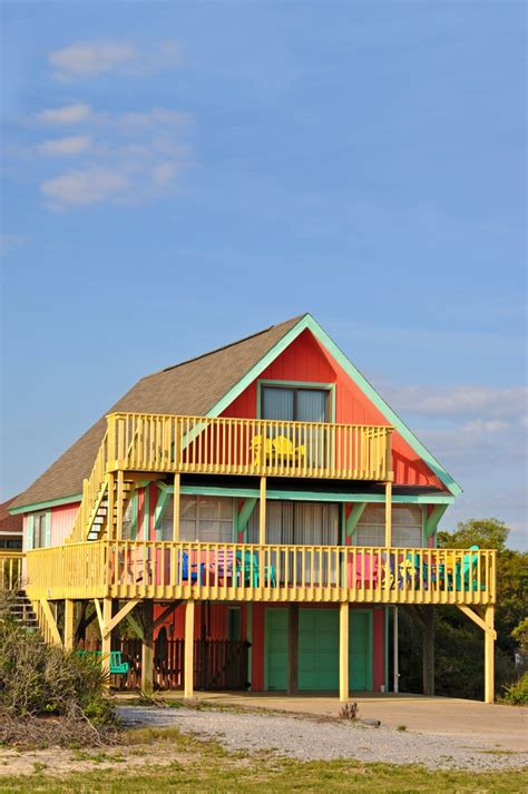 colorful beach houses beach houses lakefront cottages changing sheds