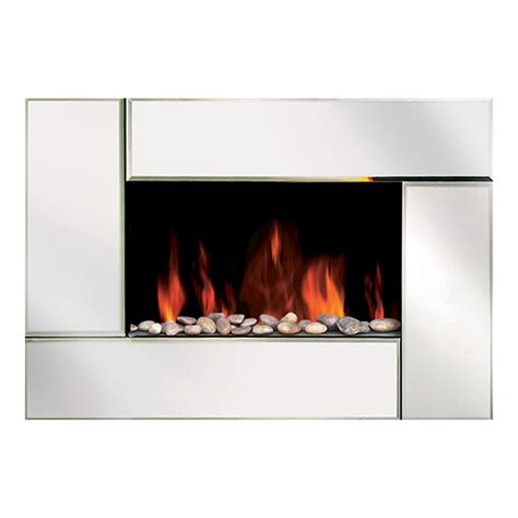 Wall Mount Gas Fireplace Canada modern homes 67501 wall mount bevel edge mirror fireplace