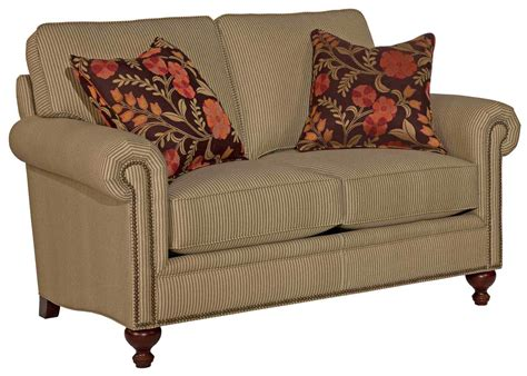 simmons harrison tobacco sofa broyhill furniture harrison traditional loveseat with nail