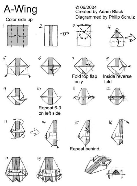 How To Make A Paper Wars Ship - 25 best ideas about wars origami on x