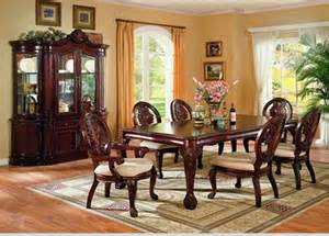 Dining Room China Hutch Comedor Formal De Madera 7 Piezas Por Coaster 7piece