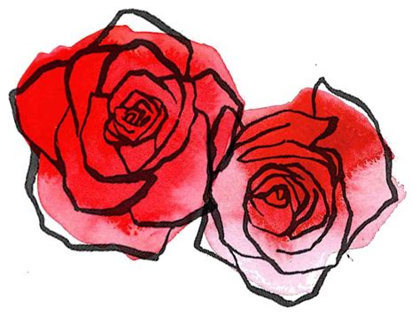 rose tattoo drawing tumblr clipart clipartxtras