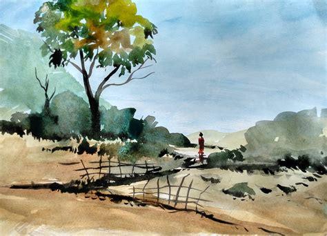tutorial watercolor landscape watercolor landscape tutorial how to paint a watercolor
