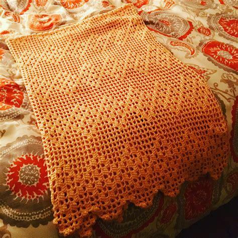 Slipper 3288 B3 Cozy Lightweight Blanket Crochet Project By Shmoopie