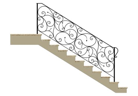 altezza corrimano parapetti per scale