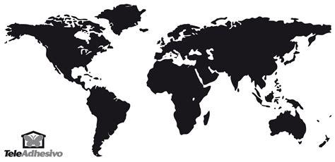 imagenes del mapamundi en blanco y negro vinilo decorativo mapa mundi de pared