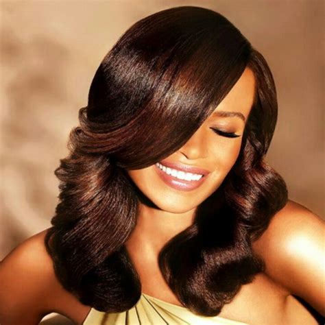 hairstyles for relaxed hair with extensions 481 best images about natural hair styles on pinterest