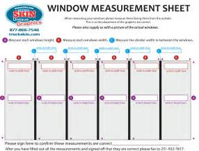 window measurement