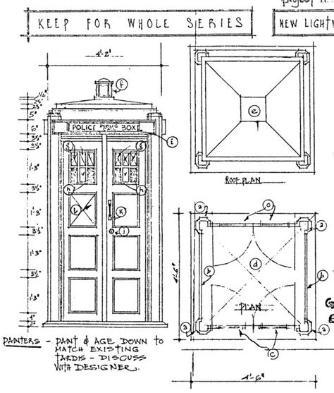 tardis diagram tardis blueprints seasons models and