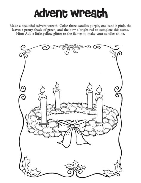advent wreath coloring page catholic 100 best images about coloring pages for catholic kids on