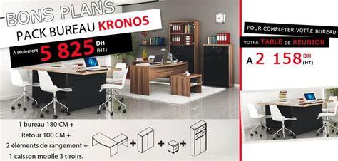 bureau maroc prix kitea bons plans pack bureau kronos prix a seulement