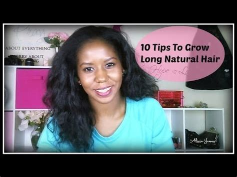 10 Tips On How To Grow Hair by My Top 10 Tips To Grow Healthy Curly
