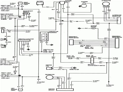 alternator wiring diagram with regulator wiring