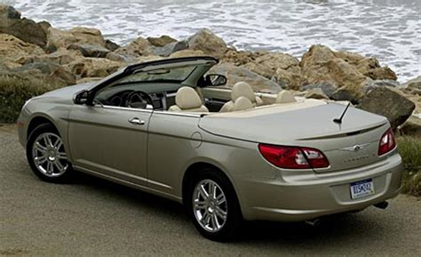 Chrysler Sebring 2008 Convertible by Car And Driver