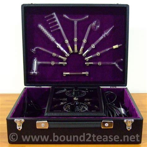 Tesla Violet Baronial Fluvita Violet With 10 Electrodes Vintage