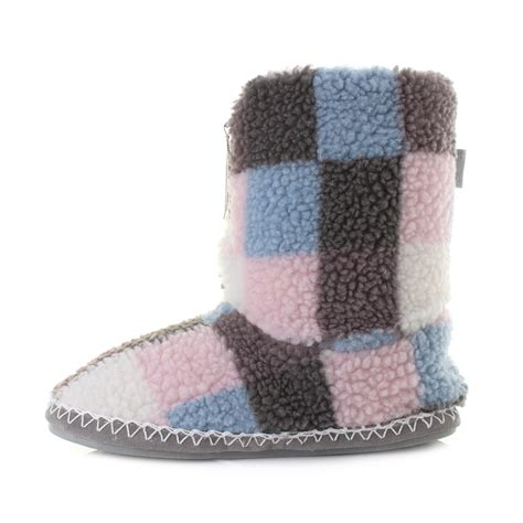 bedroom athletics macgraw womens slippers navy pink ebay womens bedroom athletics macgraw pink sky sherpa fleece