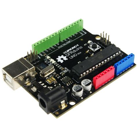Dfrduino Uno R3 By Akhi Shop dfrduino uno v2 0 arduino compatible microcontroller