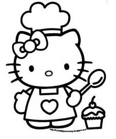 kitty coloring book sheet black white picture clipart clipart