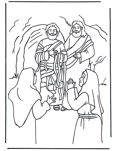 easy bible coloring pages 9 best lazarus lessons images on pinterest sunday school