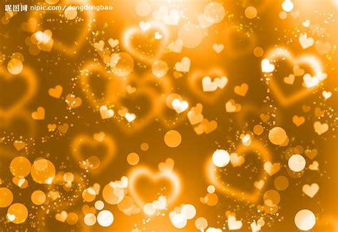 floral black orange gold background heart royalty free stock photos image 36536688 浪漫黄色心背景设计图 背景底纹 底纹边框 设计图库 昵图网nipic com