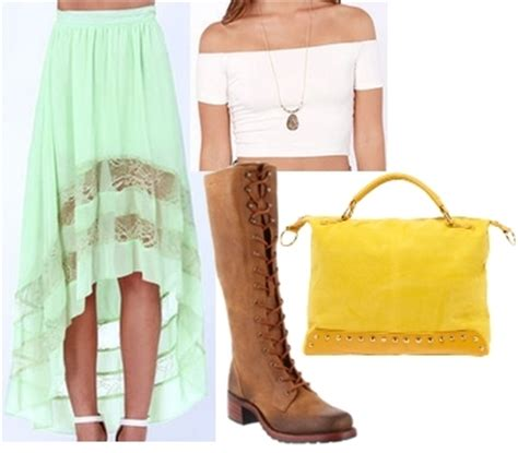 how to wear knee high lace up boots