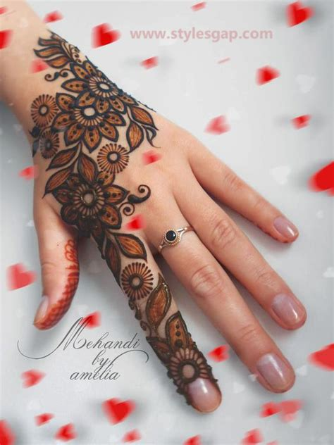 simple easy eid mehndi designs   latest collection
