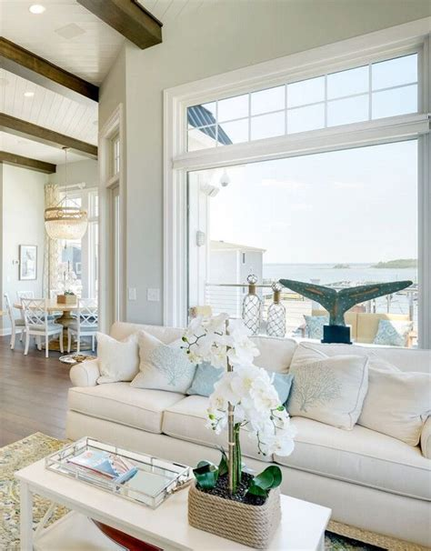 family vacation beach house wall paint color  sherwin